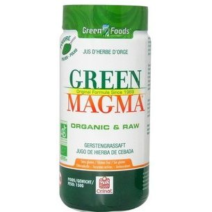 Green Magma, jus d'herbe d'orge Bio en poudre 80g