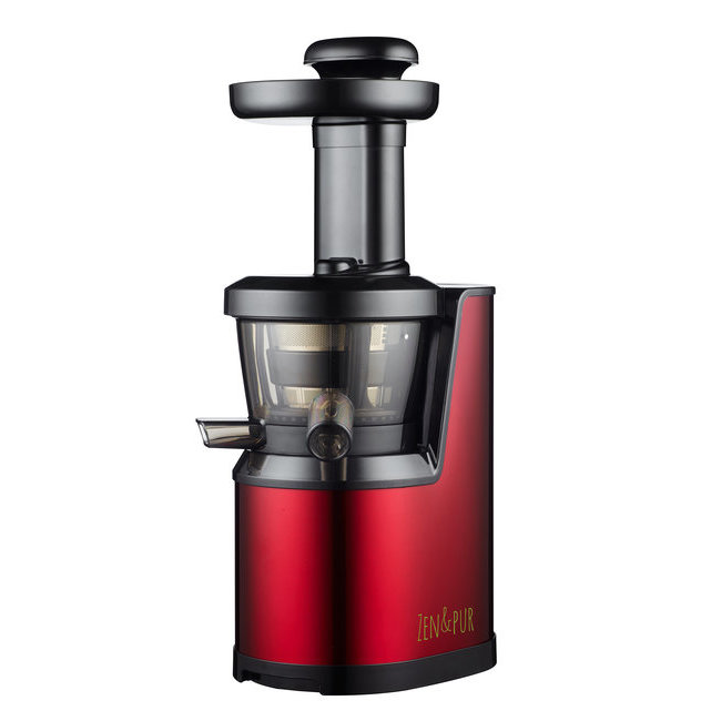 extracteur de jus vertical vital juicer 01 inox rouge zen et pur. Black Bedroom Furniture Sets. Home Design Ideas