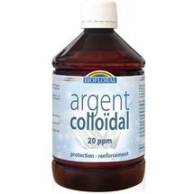 Argent Colloïdal 500 ml 20 PPM naturel