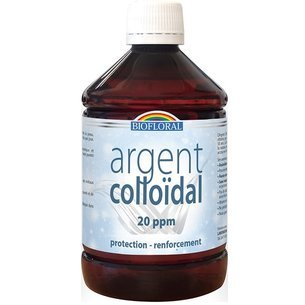 Argent Colloïdal 1 litre 20 PPM naturel