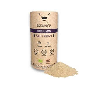 Protéine vegan aux Fruits Rouges bio & crue 450g