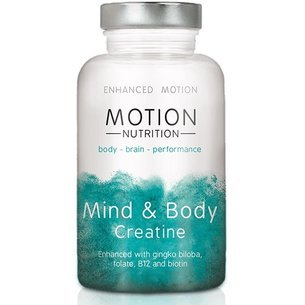 Creatine vegan capsules Motion Nutrition