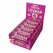 15 Barres Lifebar+ Protéine Fruits Rouges bio et crues