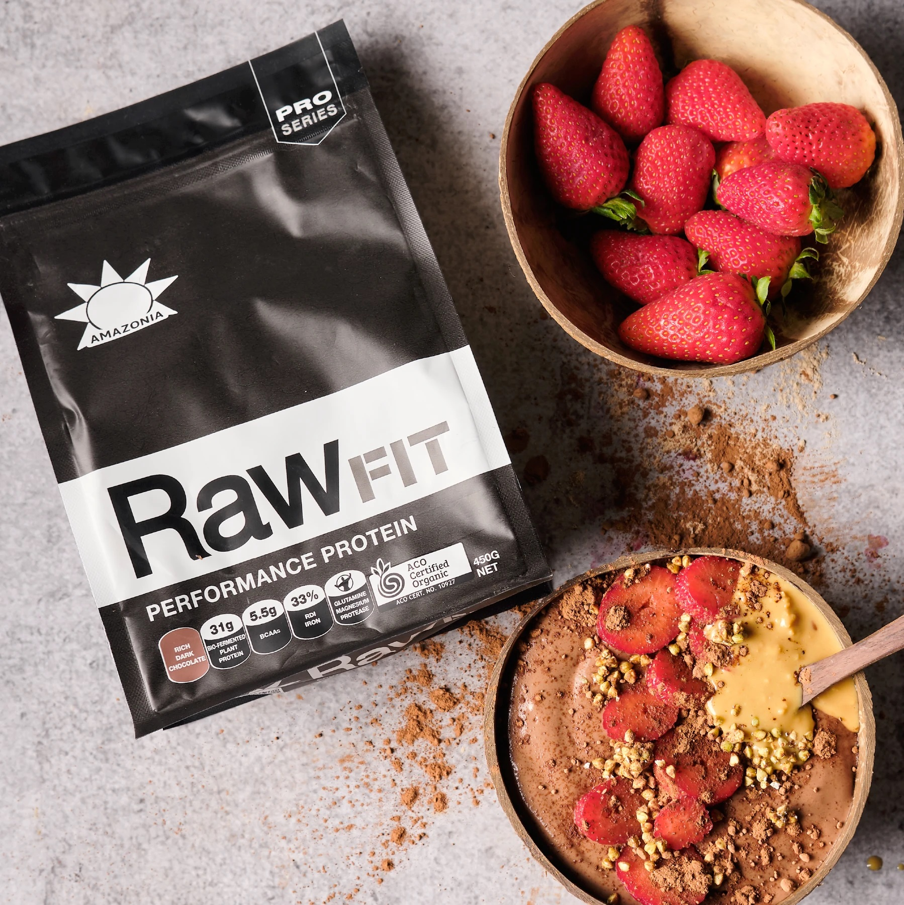 rawfit protein performance